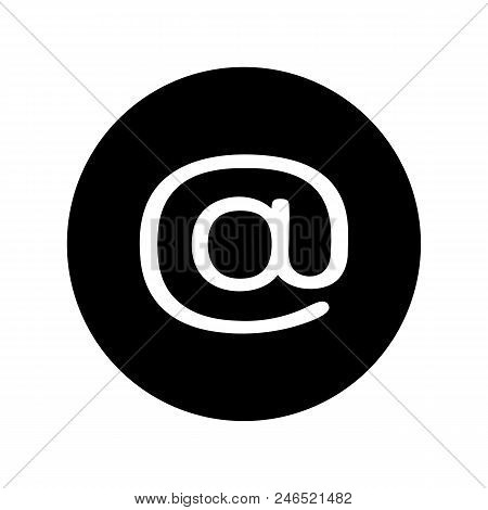Email Icon Black Vector Photo Free Trial Bigstock