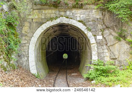 Narrow Gauge Railway Tunnel In Lillafured, Hungary