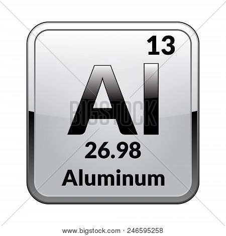 Aluminum Symbol Vector Photo Free Trial Bigstock