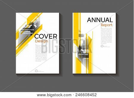 Yellow Modern Abstract Layout Background Modern Cover Design Book Cover Brochure Cover  Template,ann