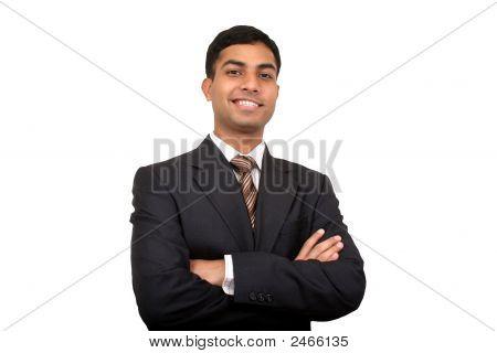 Indian Business Man Smiling