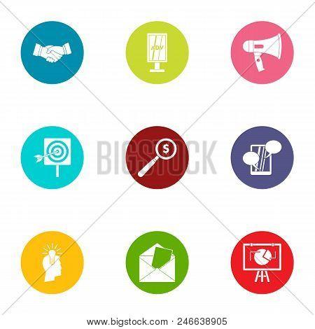 Technology Of Progress Icons Set. Flat Set Of 9 Technology Of Progress Vector Icons For Web Isolated