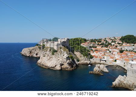 View Of The City Of Dubrovnik, Croatia