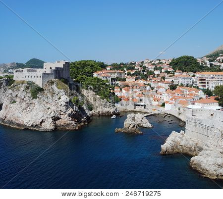 View Of The City Of Dubrovnik, Croatia, Southern Dalmatia