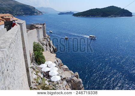 View Of The City Of Dubrovnik, Croatia, Southern Dalmatia