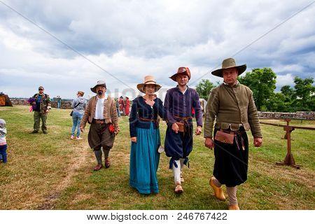 CZERSK, POLAND - 23 JUNE, 2018: Historical picnic