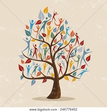 Family Tree Symbol Vector Photo Free Trial Bigstock