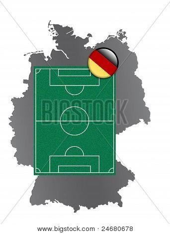 Soccer field Germany