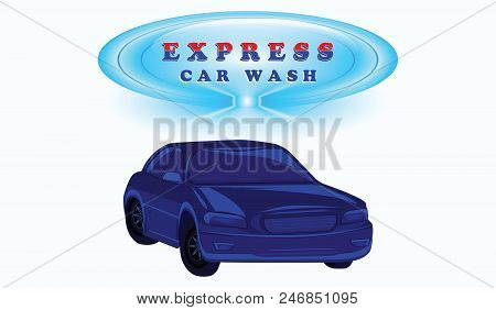 Express Car Wash Vector Photo Free Trial Bigstock