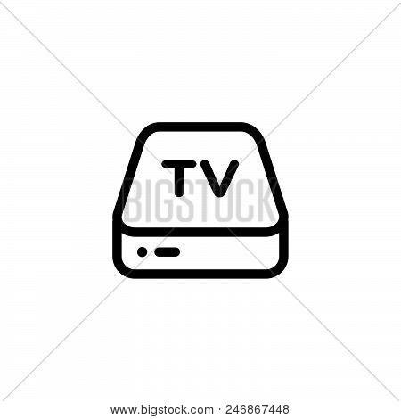Ip Tv Vector Icon On White Background. Ip Tv Modern Icon For Graphic And Web Design. Ip Tv Icon Sign