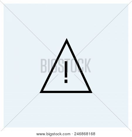 Error Icon Vector Icon On White Background. Error Icon Modern Icon For Graphic And Web Design. Error