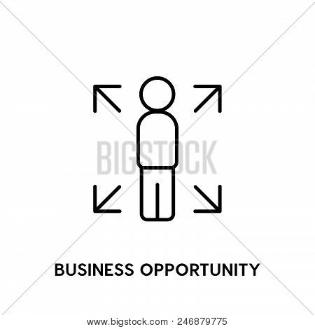 Business Opportunity Vector Icon.  Business Opportunity Vector Icon.  Business Opportunity Vector Ic