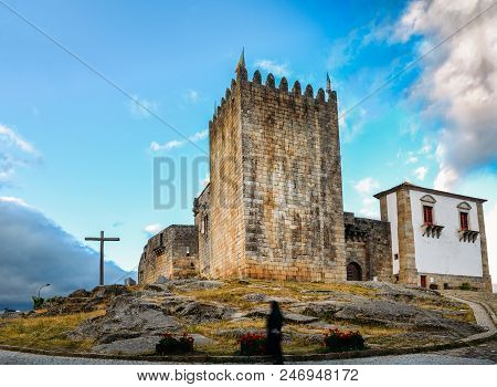 Panoramic View Of Belmonte, Portugal, Birthplace Of 16th-century Portuguese Explorer Of New World, P