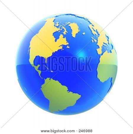 Earth Globe 2