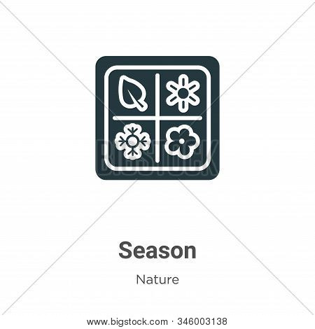 Season icon isolated on white background from nature collection. Season icon trendy and modern Seaso