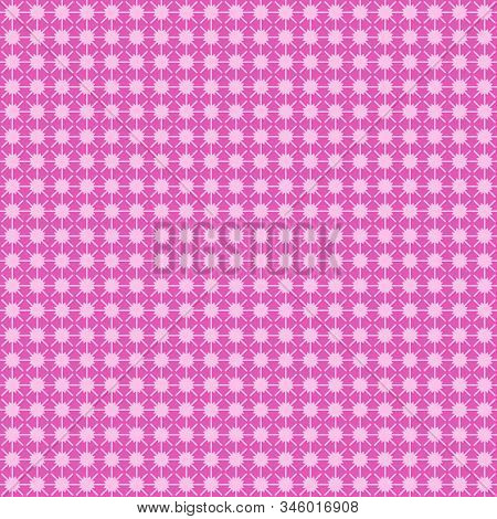 Pink Burst Abstract Geometric Seamless And Repeat Textured Pattern Background 3d Illustration