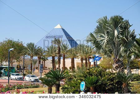Eilat, Israel - March 06, 2019: Cinema Imax Digital Theater System In The Center Of Eilat