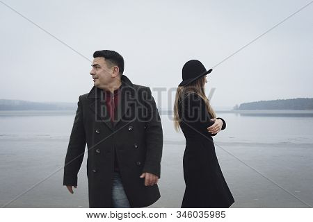 Young Couple Having Problems In A Relationship