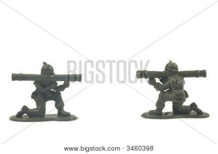 Bazooka Soldier Battle