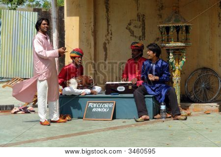 Hindu Street Musicians