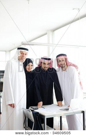 Muslim business at work
