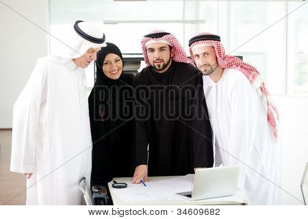 Arabic team work