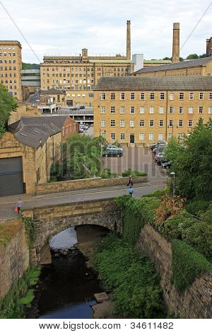 Dean Clough Mill,