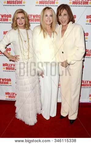 LOS ANGELES - JAN 18:  Donna Mills, Joan Van Ark, Michele Lee at the 40th Anniversary of