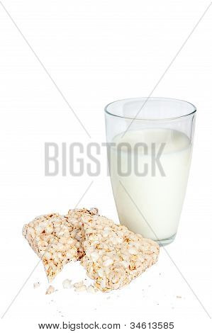 Rice Biscuits And Milk