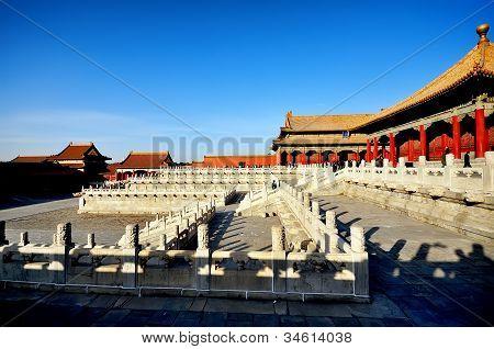 The forbidden city, world historic heritage, Beijing China.
