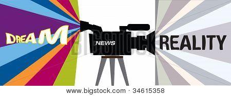 Televison Concept - Dream Vs Reality