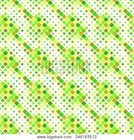 Diagonal Square Pattern Background - Abstract Geometrical Colorful Vector Graphic Design From Rounde
