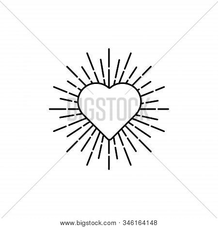 Heart icon. Heart icon isolated on white background. Heart icon eps. Heart icon Image. Heart icon logo. Heart icon sign. Heart icon flat. Heart icon design. Heart icon vector, Love Hearts, Heart icon vector isolated on white background.