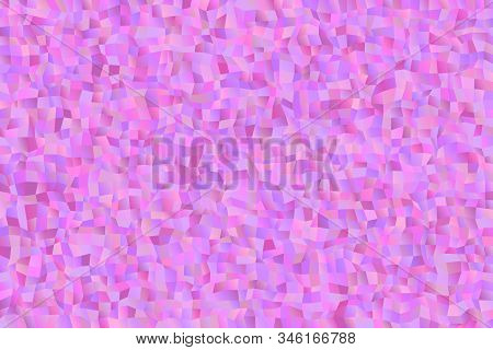 Random Geometrical Mosaic Rectangle Website Background - Chaotic Geometric Vector Graphic