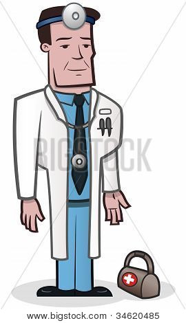 Doctor - vector illustration