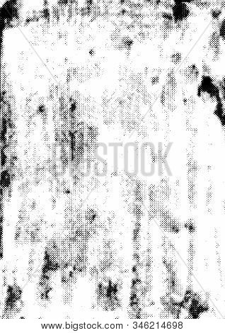 Retro Grunge Rough Texture Concept With Grungy Grained Dotted Effects Vector Illustration