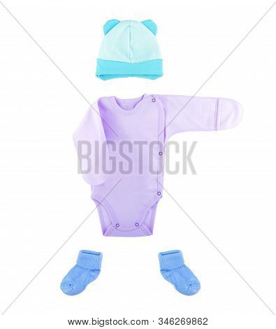 Baby Clothes On A White Background Fashion, Soft, Press, Shirt, Body,