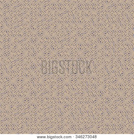 A Seamless Vector Abstract Geometric Tweed Like Pattern In Muted Colors. Neutral Surface Print Desig