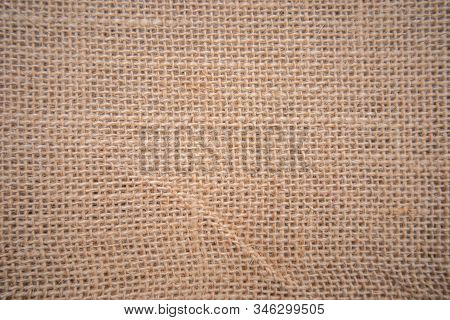 Background, Sackcloth, Cotton Weave, Close Up With Beige Scales And Different Eyebrows, Sackcloth Ha