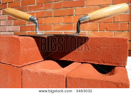 Trowels And House Bricks