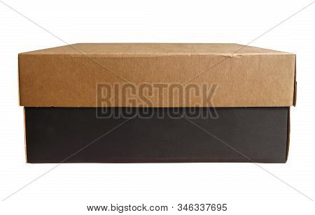 Cardboard Box, Isolated On White Background. Clipping Path Included.