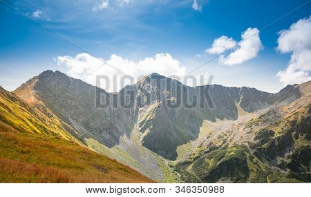 Rohac Ostry And Rohac Placzliwy In Western Tatra Mountains - Two Breathtaking Rocky Summits Over 200