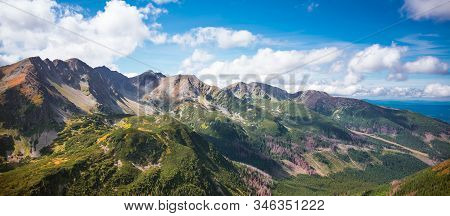 Trzy Kopy And Banowka - Impressive Summits Of Western Tatra Mountains Range