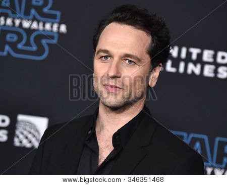 LOS ANGELES - DEC 16:  Matthew Rhys arrives for the 'Star Wars: The Rise of Skywalker' Premiere on December 16, 2019 in Hollywood, CA