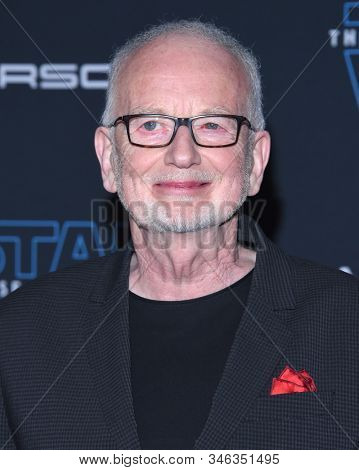 LOS ANGELES - DEC 16:  Ian McDiarmid arrives for the ÔStar Wars: The Rise of SkywalkerÕ Premiere on December 16, 2019 in Hollywood, CA