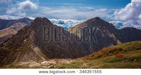 Rohacz Ostry And Other Summits Of Slovakian Tatra Mountains