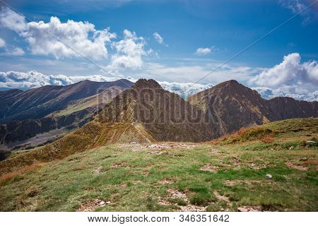 Narrow Ridge Path From Wolowiec To Rohacz Ostry In Slovakia