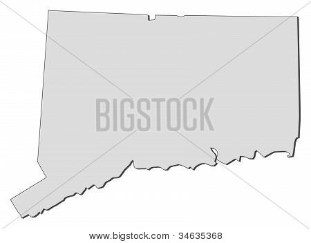 Map Of Connecticut (united States)