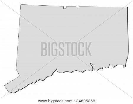Karta i Connecticut (Sverige)