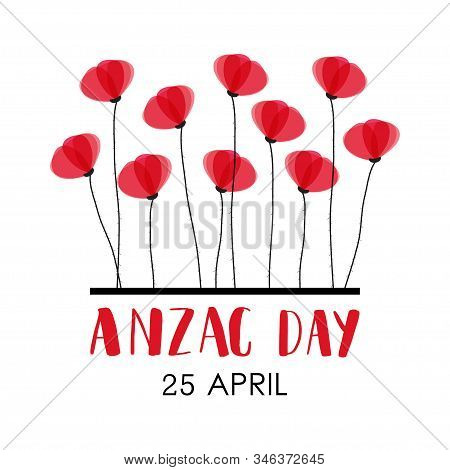 Anzac Day. Australia New Zealand Army Corps